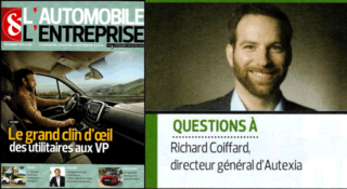 Interview de Richard Coiffard – L'Automobile & Entreprise n°250 – novembre 2019