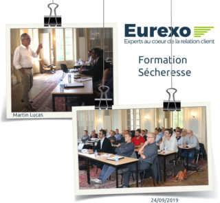 Eurexo renforce les compétences de ses collaborateurs sur l'expertise sécheresse