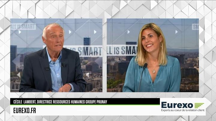 Interview de Céline Lambert, Directrice des Ressources Humaines, dans l'émission «Small is Smart» de BSMART